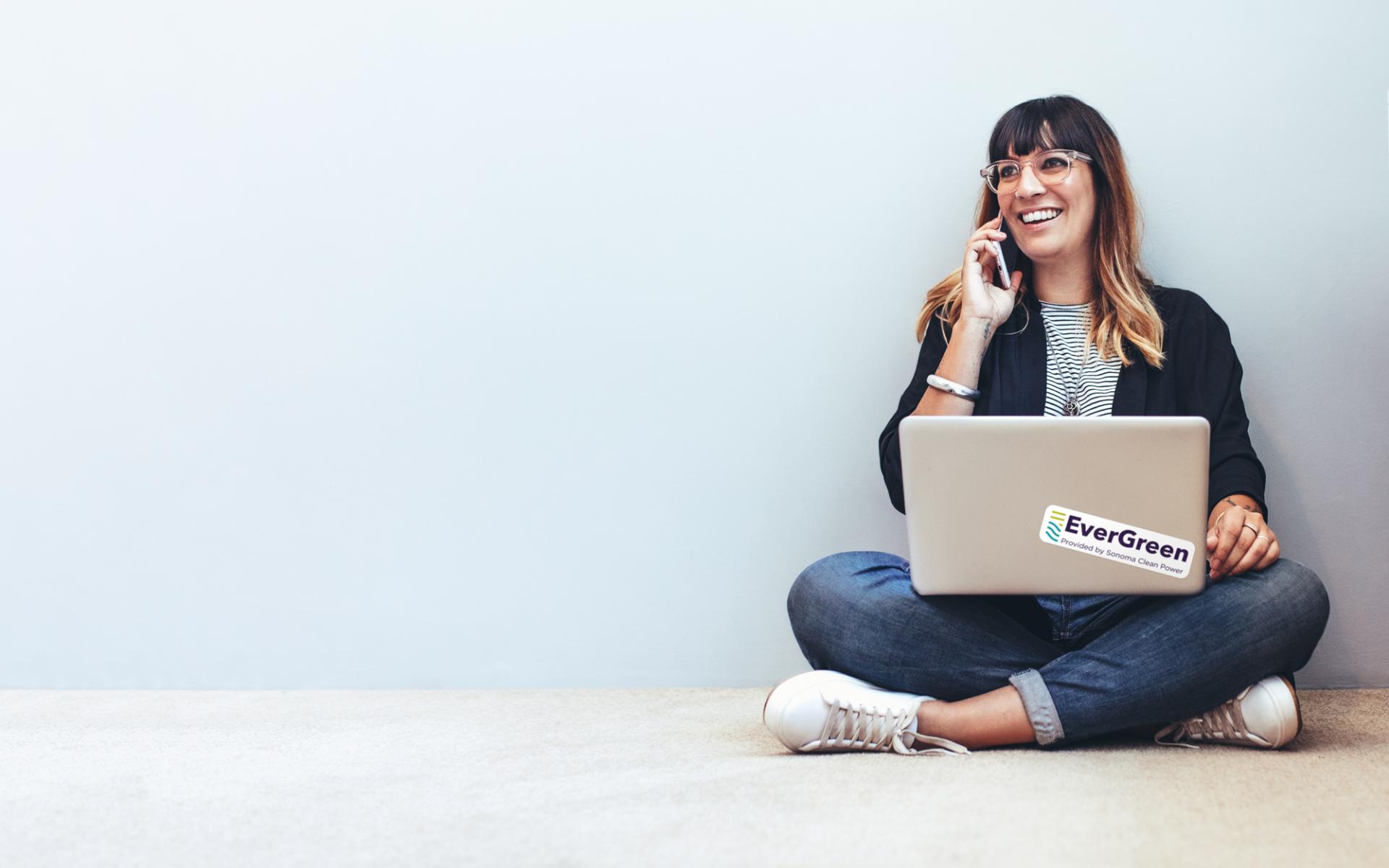Women researching energy savings tips