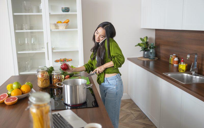 Girl kitchen